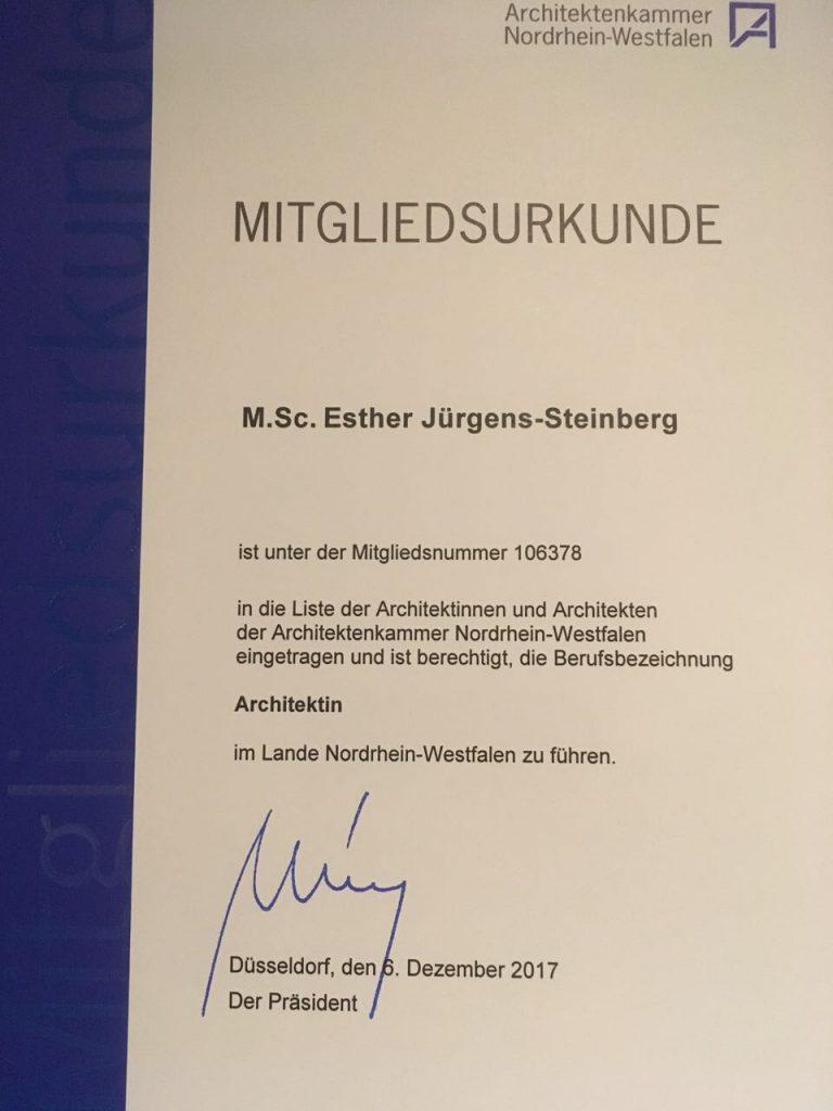 Architektin 768x1024 - Das schönste Weihnachtsgeschenk für Juniorchefin Esther Jürgens-Steinberg...